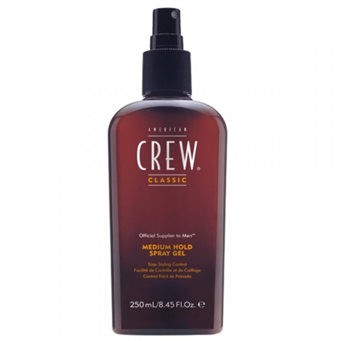 American Crew Medium Hold Spray Gel 250ml -