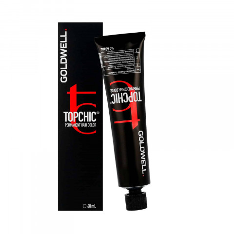 Goldwell Topchic Elumenated Biondo Medio Illuminato Rosso Intenso 7N@RR - 60ml -