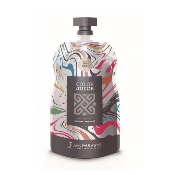 Jean Paul Mynè Color Juice 5.1 (5A) Castano Chiaro Cenere 100ml -