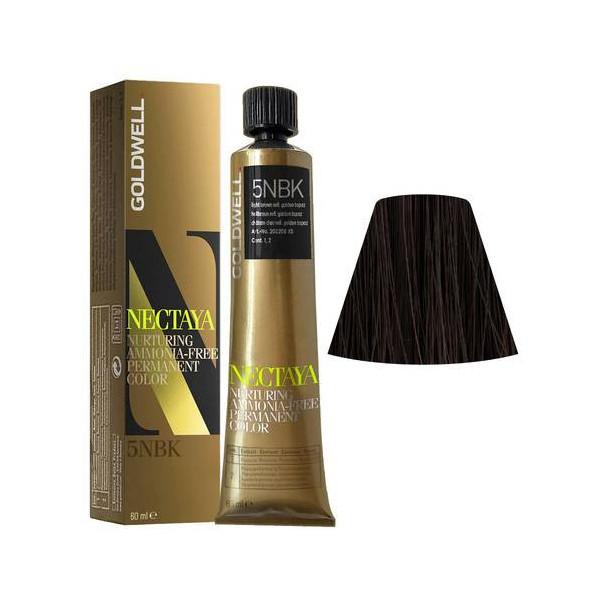 Goldwell Nectaya Enriched Naturals 5NBK Castano Chiaro Topazio Dorato 60ml -