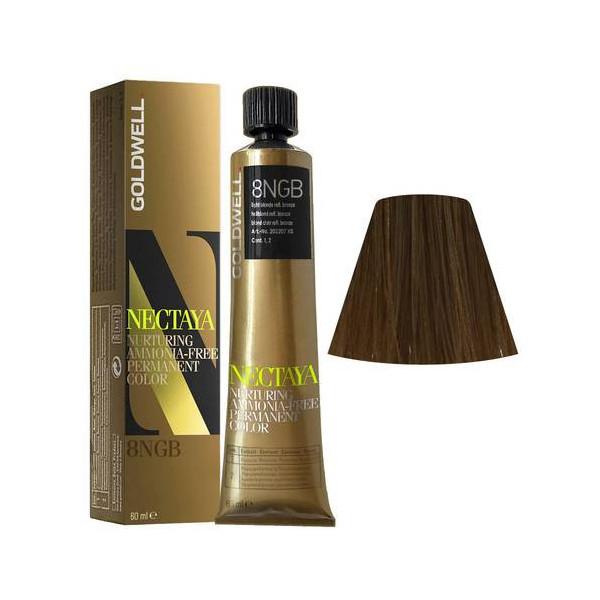 Goldwell Nectaya Enriched Naturals 8NGB Biondo Chiaro Bronzo 60ml -