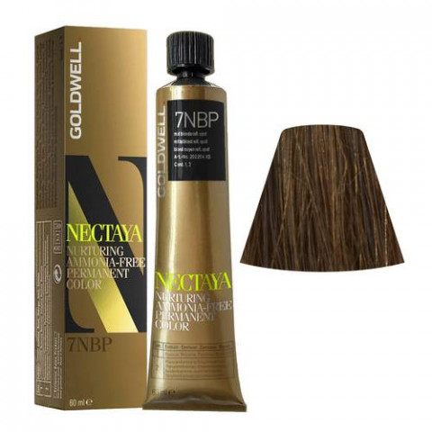 Goldwell Nectaya Enriched Naturals 7NBP Biondo Medio Opale 60ml -