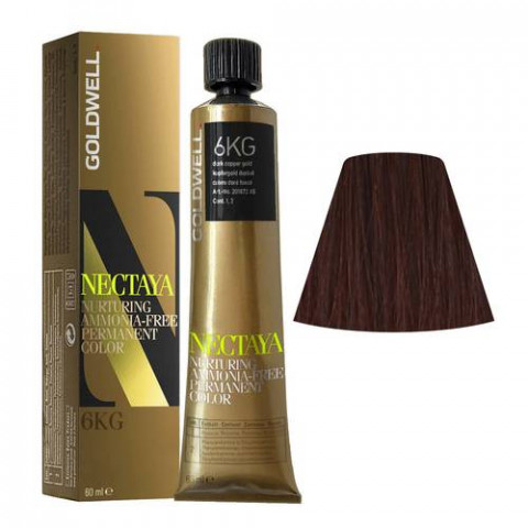 Goldwell Nectaya Warm Reds 6KG Rame Dorato Scuro 60ml -