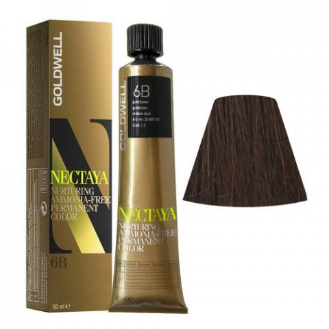 Goldwell Nectaya Warm Browns 6B Castano Dorato 60ml -