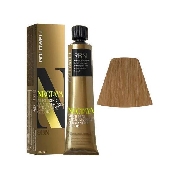 Goldwell Nectaya Warm Blondes 9BN Biondo Chiarissimo Beige 60ml -