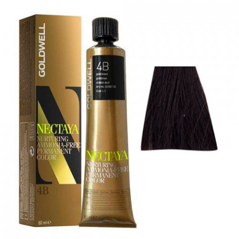 Goldwell Nectaya Warm Browns 4B Castano Medio Havana 60ml -