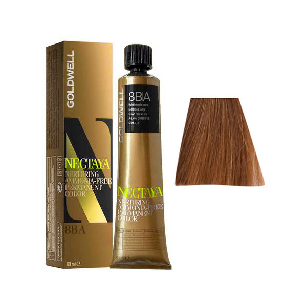 Goldwell Nectaya Cool Blondes 8BA Biondo Chiaro Cenere Beige 60ml -