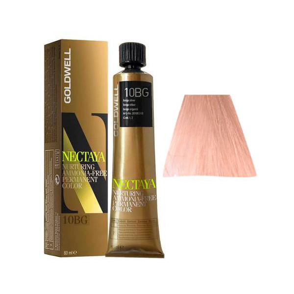 Goldwell Nectaya Warm Blondes 10BG Biondo Chiarissimo Oro Beige 60ml -