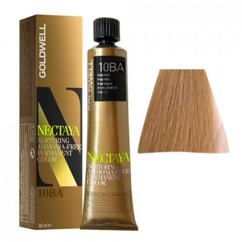 Goldwell Nectaya Cool Blondes 10BA Biondo Chiarissimo Cenere Beige 60ml -