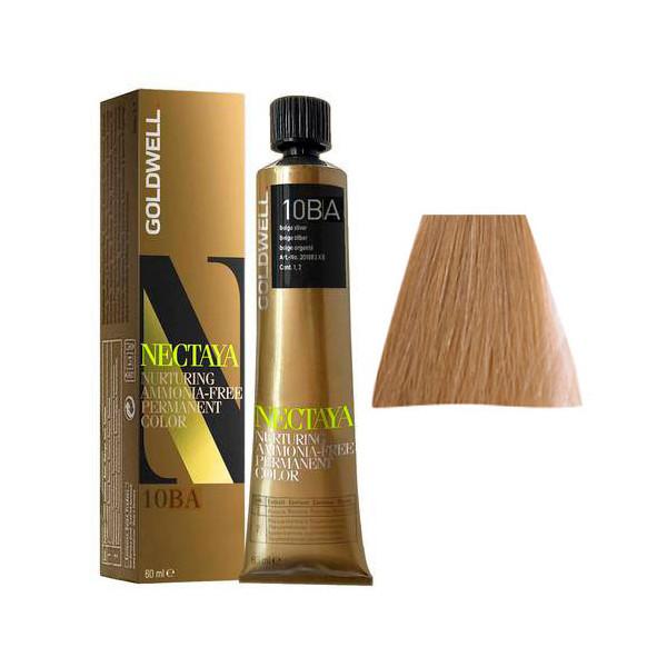 Goldwell Nectaya Cool Blondes 10BA Biondo Chiarissimo Cenere Beige 60ml -