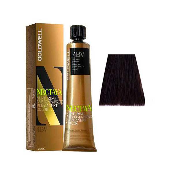 Goldwell Nectaya Cool Browns 4BV Castano Medio Violetto 60ml -