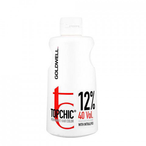 Goldwell Ossigeno Topchic Cream Developer Lotion 12% 40 Vol. 1000ml -