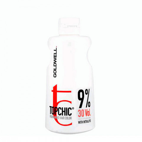 Goldwell Ossigeno Topchic Cream Developer Lotion 9% 30 Vol. 1000ml -