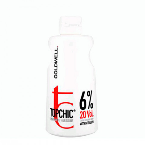 Goldwell Ossigeno Topchic Cream Developer Lotion 6% 20 Vol. 1000ml -