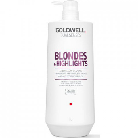 Goldwell Dualsenses Blondes & Highlights Anti-Yellow Shampoo 1000ml -