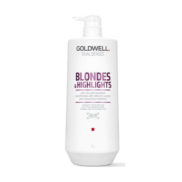 Goldwell Dualsenses Blondes & Highlights Anti-Yellow Shampoo 1000ml -