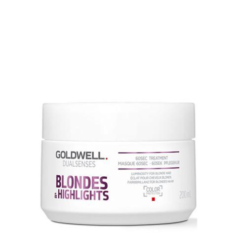Goldwell Dualsenses Blondes & Highlights Anti-Yellow 60sec Treatment 200ml -