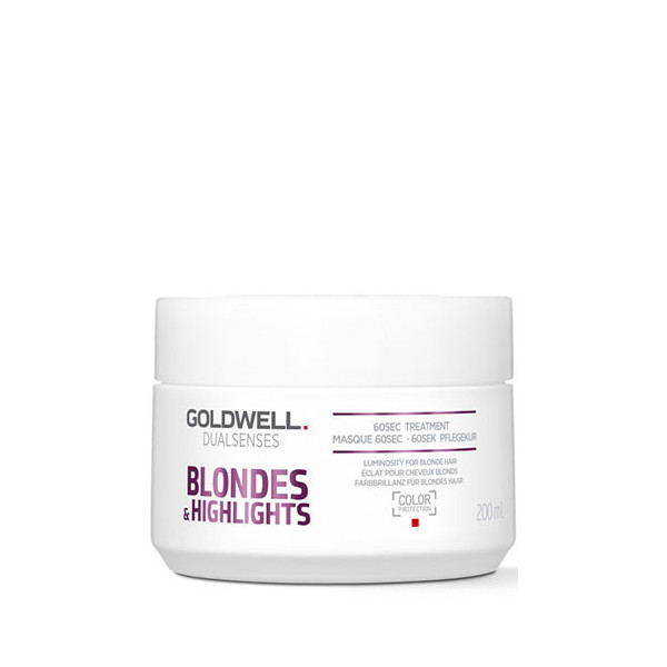 Goldwell Dualsenses Blondes & Highlights Anti-Yellow 60sec Treatment 200ml -