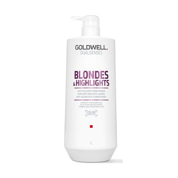 Goldwell Dualsenses Blondes & Highlights Anti-Yellow Conditioner 1000ml -