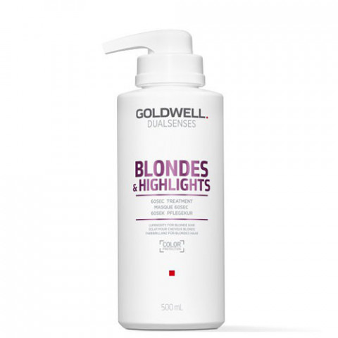 Goldwell Dualsenses Blondes & Highlights Anti-Yellow 60sec Treatment 500ml -