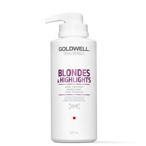 Goldwell Dualsenses Blondes & Highlights Anti-Yellow 60sec Treatment 500ml -