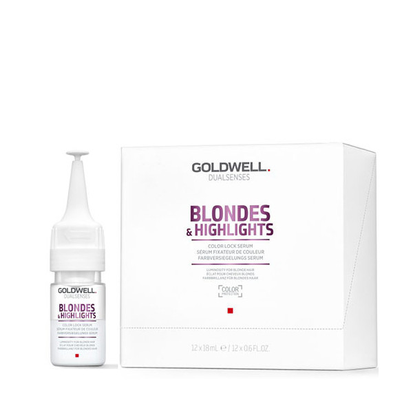 Goldwell Dualsenses Blondes & Highlights Color Lock Serum 12x18ml -