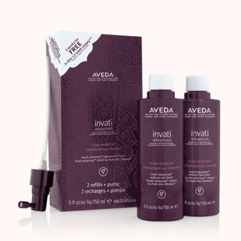Aveda Invati Scalp Revitalizer Refill Duo Pack Refill 2x150ml -