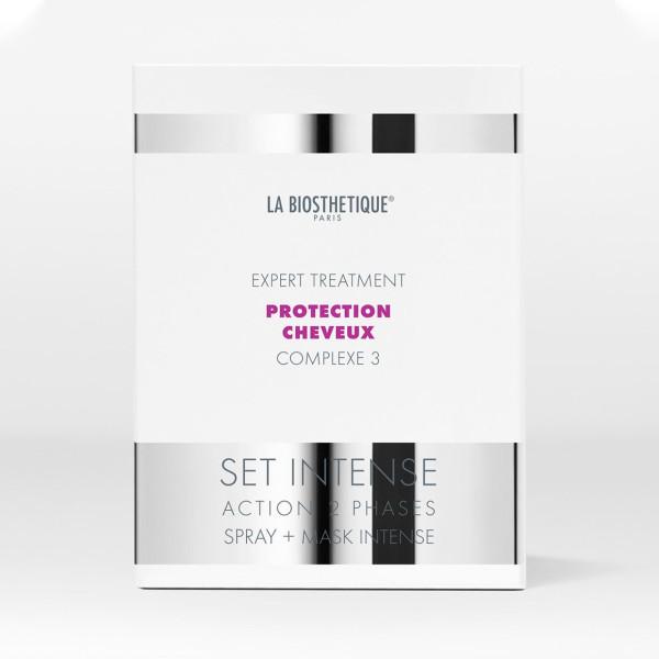La Biosthetique Protection Cheveux Complexe 3 Set Intense Action 2 Phases -