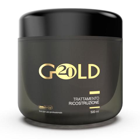 Monacelli Gold 20 Trattamento Ricostruzione -