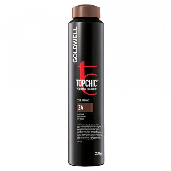 Goldwell Topchic Cool Browns Nero Blu 2A - 250ml -