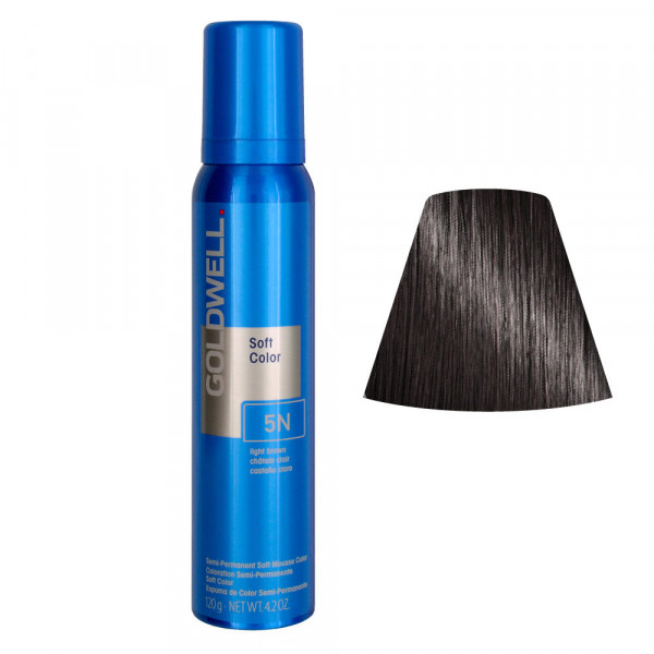 Goldwell Soft Color Mousse 5N 125ml -