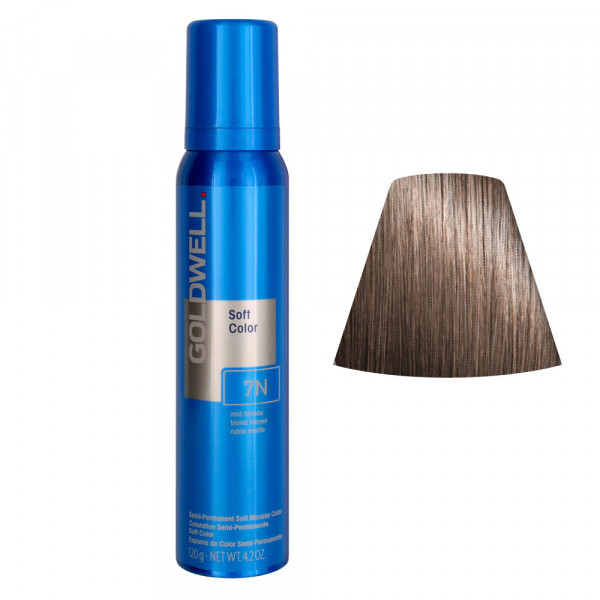 Goldwell Soft Color Mousse 7N 125ml -