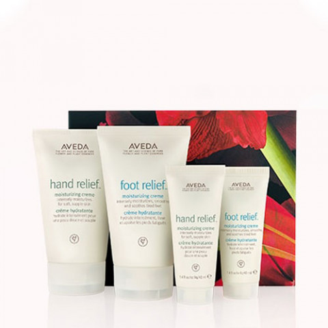Aveda Hand & Foot Relief Home & Travel Hydration Set -