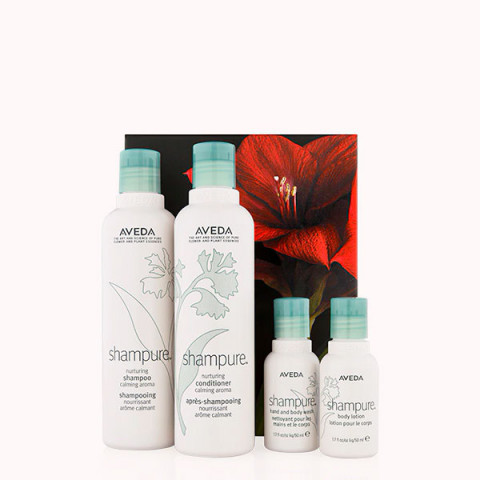 Aveda Shampure Calming Hair & Body Set -
