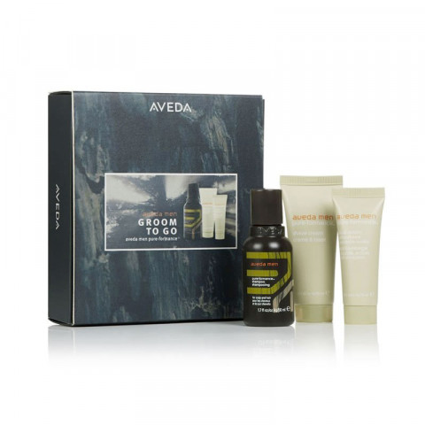 Aveda Men Groom To Go Gift Set -