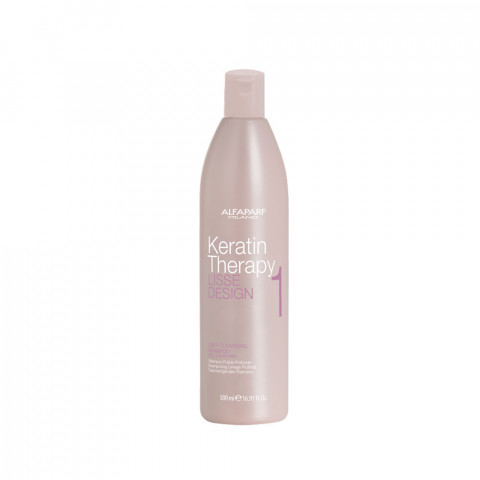 Alfaparf Lisse Design Keratin Deep Cleansing Shampoo 500ml -