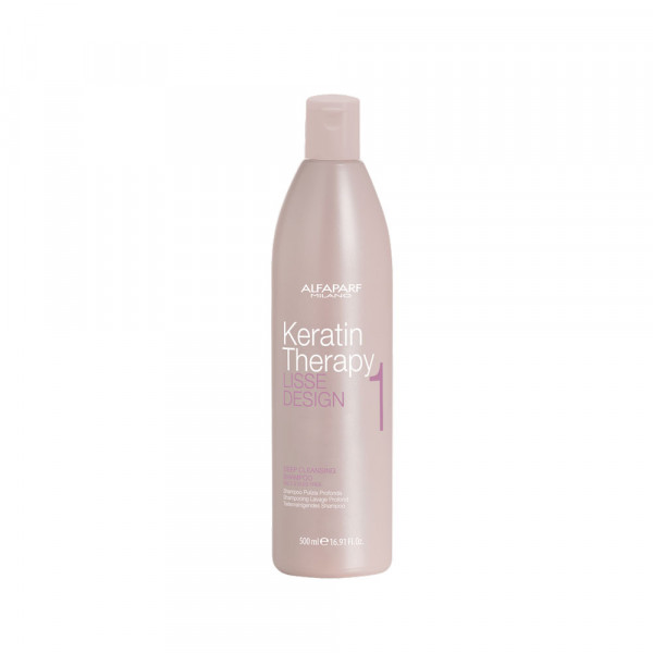 Alfaparf Lisse Design Keratin Deep Cleansing Shampoo 500ml -