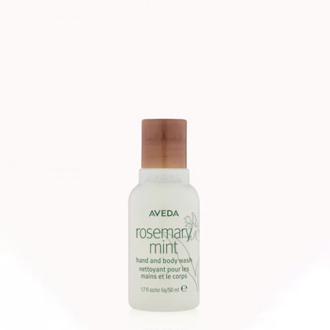 Aveda Rosemary Mint Hand and Body Wash Travel Size 50ml -