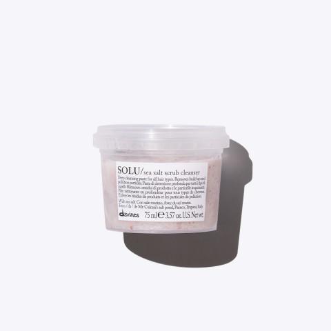 Davines Essential Haircare Solu Sea Salt Scrub Cleanser 75ml -