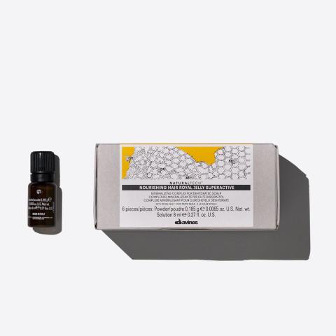 Davines Naturaltech Nourishing Hair Royal Jelly Superactive 6x8ml -