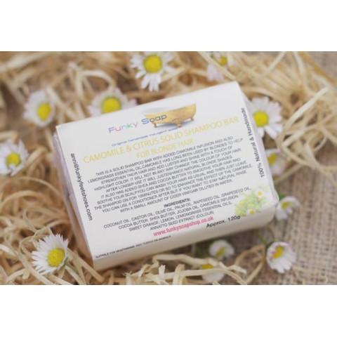 Saponetta Shampoo Solido alla Camomilla e Agrumi -