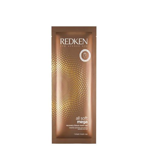 Redken All Soft Mega Recovery Tissue Mask Cap 10x30ml -