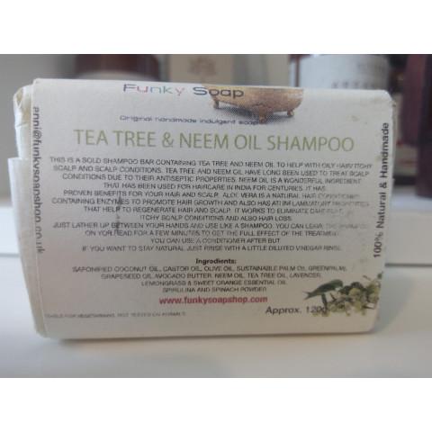 Saponetta Shampoo Solido Olio di Neem e Tea Tree -