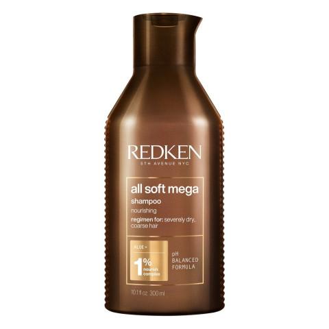 Redken All Soft Mega Shampoo 300ml -
