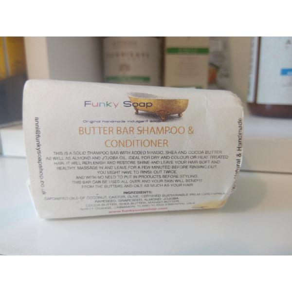 Saponetta Shampoo Solido & Balsamo Barra di Burro -
