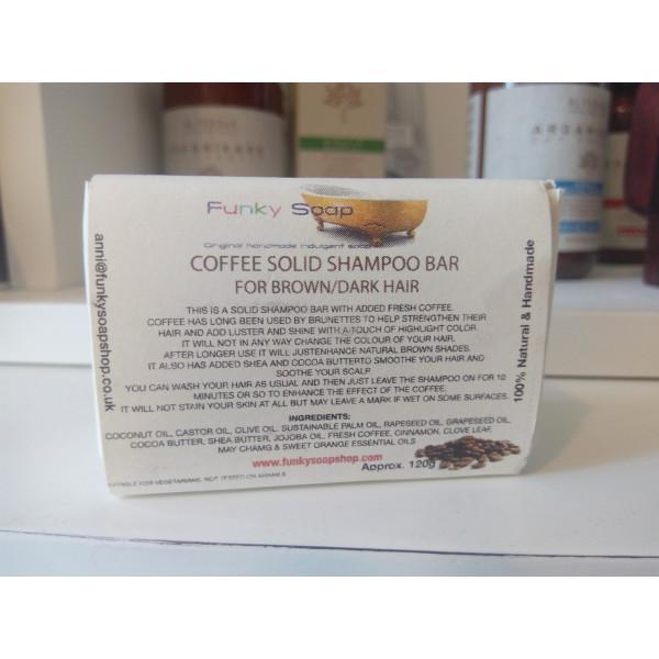 Saponetta Shampoo Solido al Caffe -