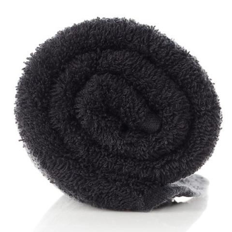 Asciugamano in Spugna Terry Tekno - Nero -