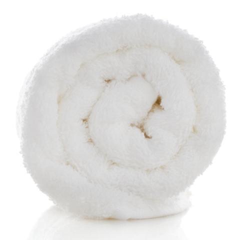 Asciugamano in Spugna Terry Tekno - Bianco -