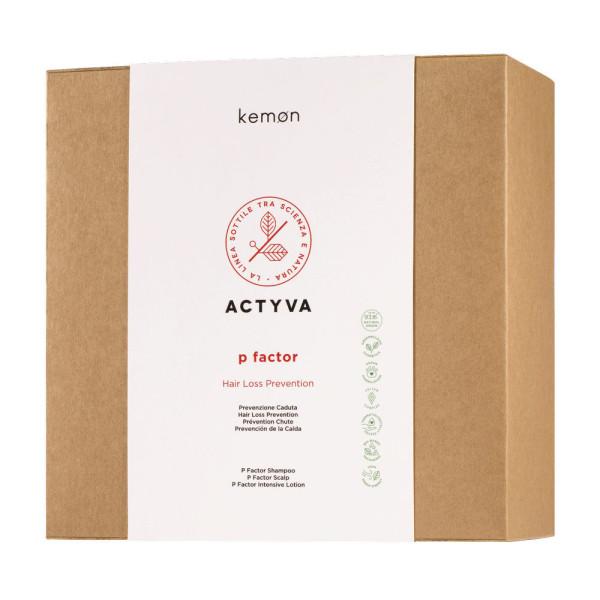 Kemon Actyva P Factor Kit Hair Loss Prevention -