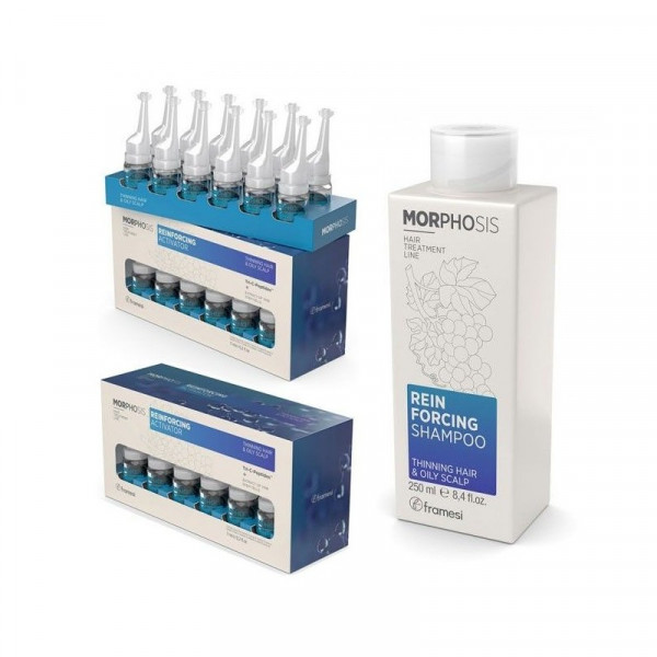 Framesi Morphosis Reinforcing Kit Activator 24 fiale x 7ml + Shampoo 250ml -